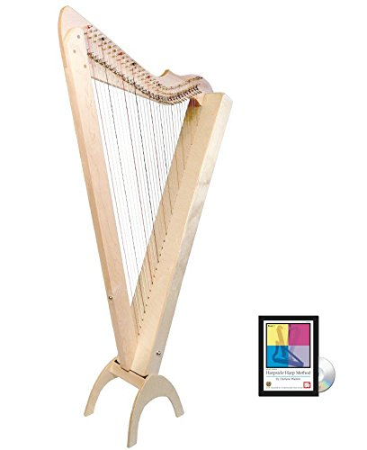 33 String Grand Harpsicle Harp w/ Book/DVD – Maple