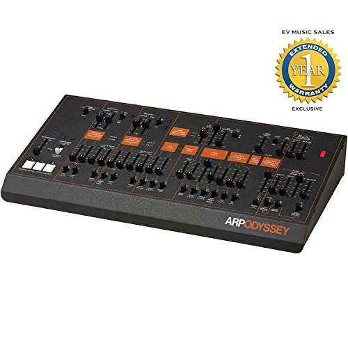 Korg ARP Odyssey Analog Synthesizer Module (Black) with 1 Year Free Extended Warranty