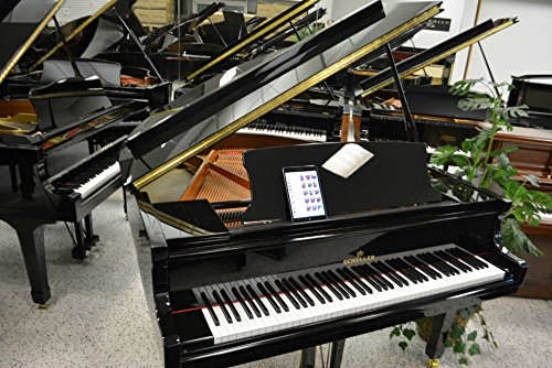 Schiller Grand Piano with Piano Disc IQ iPad Player System