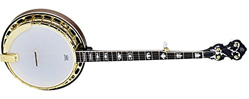Ortega Guitars OBJ950-FMA Raven Series 5-String Banjo with Flamed Maple Resonator and 3-Ply Solid Maple Rim
