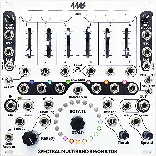 4MS SMR Spectral Multi-Band Resonator Eurorack Synth Module