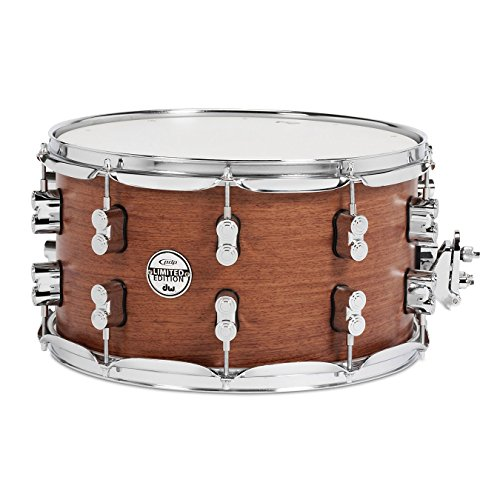 Pacific Drums & Percussion PDSX0814BMBM 8″ x 14″ Limited Edition Bubinga Snare Drum