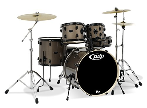 PDP By DW Mainstage 5-Piece Drum Set w/Hardware and Paiste Cymbals Bronze Metallic