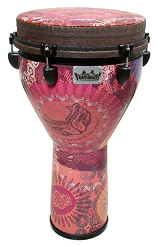 Remo Djembe – Warriors In Pink Finish