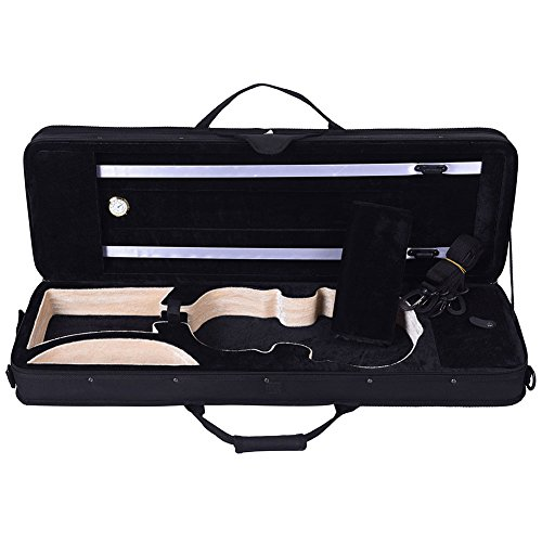 ADM Full Size Oblong Shape Lightweight Violin Case with Hygrometer