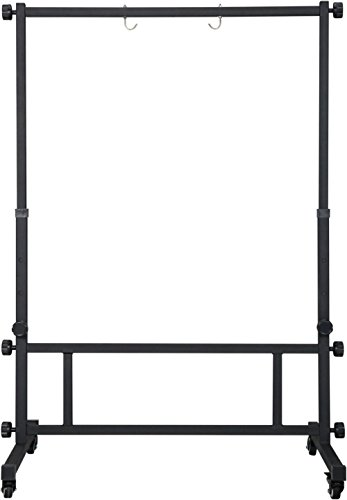 Agazarian Large Gong Stand with Wheels