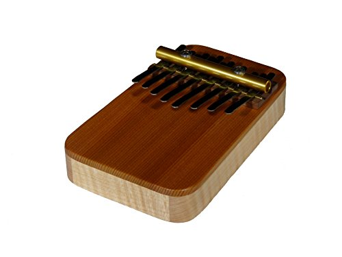 Zither Heaven Artisan Curly Maple 8 Note Thumb Piano