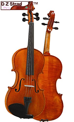 D Z Strad Violin Model 101 4/4 Full Size Violin with Case, Bow, and Rosin
