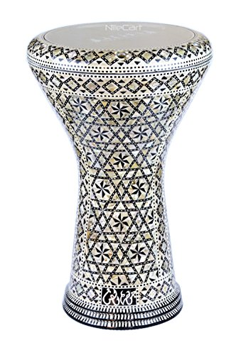 17″ New Gawharet El Fan Egyptian Doumbek, Darbuka # 215 by NileCart