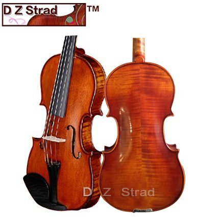D Z Strad Viola Model 101 Handmade with Case and Bow-15.5″