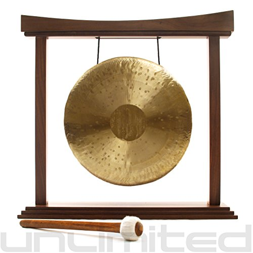 12″ Heng Gong on The Small Eternal Present Gong Stand