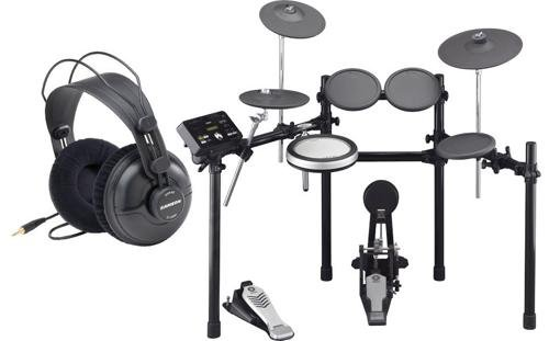 Yamaha DTX522K 5-Piece Electronic Drum Set w/ Studio Headphone Package