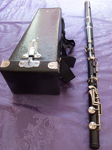 FLUTE IN IRISH MODEL WITH FREE CASE BOX WITH GREAT QUALITY REED MADE OF EBONITE