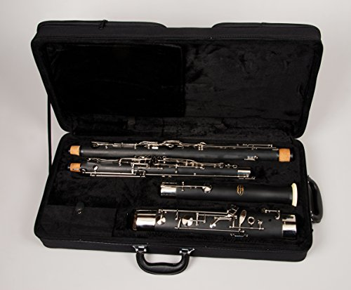 Tempest Bassoon Resin Model Full German System High D Key 2 Bocals 5-Year Warranty