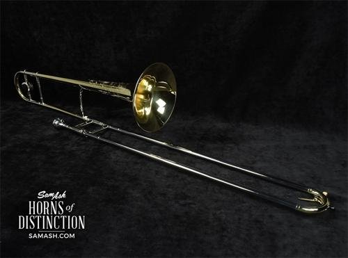 King 2B Legend Series Trombone 2B Yellow Brass Bell Lacquer