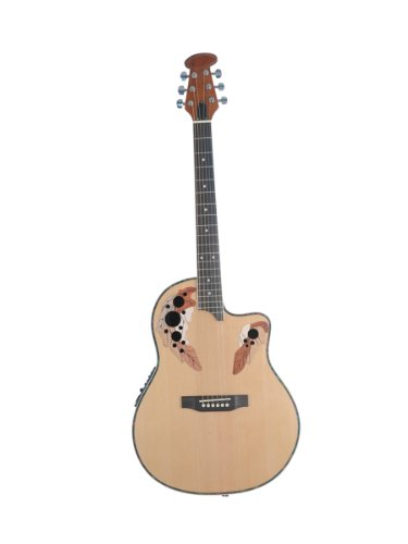 ADM JO63 Round Back Electric Acoustic Guitar