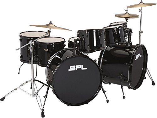 Sound Percussion Labs UNITY 8-Piece Double Bass Drum Shell Pack Black