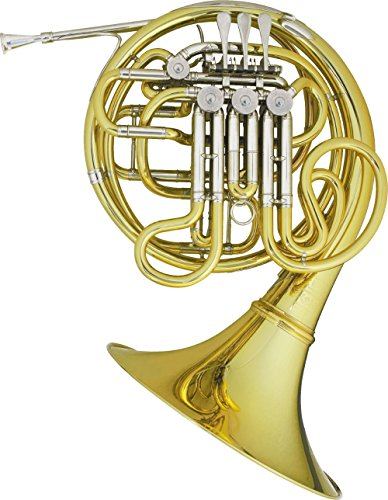Hans Hoyer Heritage 6802 Bb/F Double French Horn String Mechanism Lacquer