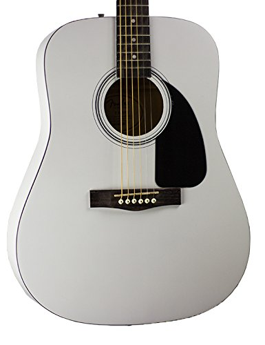 Fender Acoustic Guitar Limited Edition White FA-100