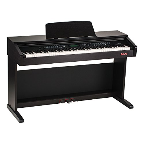 Flychord DP330 Traditional Console Digital Piano, Dark Rosewood.