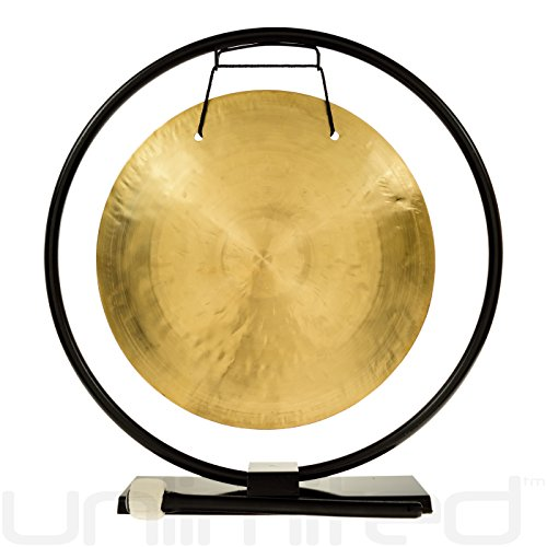 14″ Wind Gong on Au Courant Gong Stand