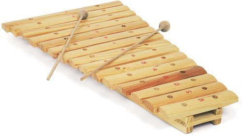 Hand made all wood 15 note xylophone by iAuctionShop