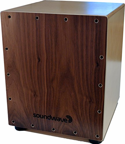 Premium Cajon Box Drum | The Original Acoustic Percussion Instrument You Sit On | High Quality Wooden Drum Box with Compact and Portable Design