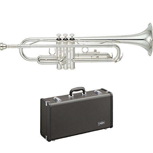 """Yamaha Trumpet Bb YTR-2330S Standard SILVER With """"Hard Case"""""""