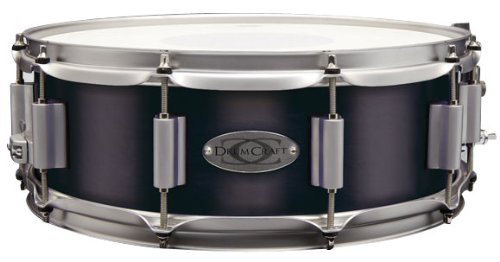 Drum Craft DC838041 Series 8 Maple 10 x 6 Inches Snare Drum – Electric Black
