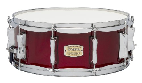 Yamaha Stage Custom Birch 14×5.5 Snare Drum, Cranberry Red