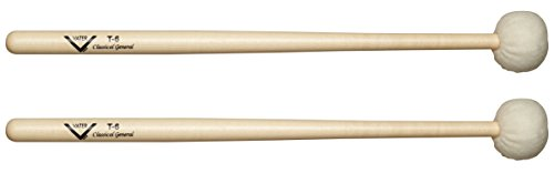 Vater VMT6 T6 Timpani, Drumset & Cymbal Mallets, Pair