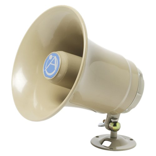 Atlas Sound SC-15-45 Compact High Efficiency Paging Horn 15W @ 45 Ohms