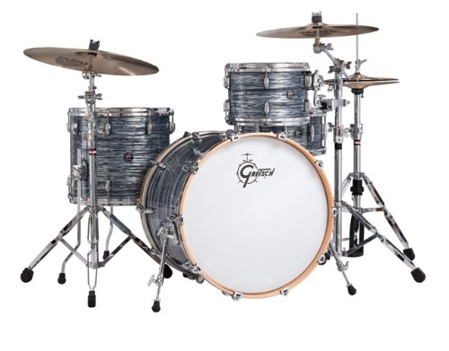 Gretsch New Renown Maple 3-Piece Euro Drum Set Shell Pack – Silver Oyster Pearl