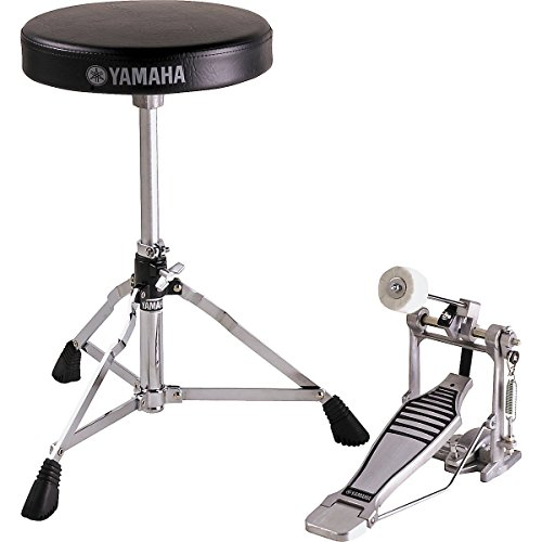 Yamaha FP-6110A and DS-550; Foot Pedal and Drum Throne PKG