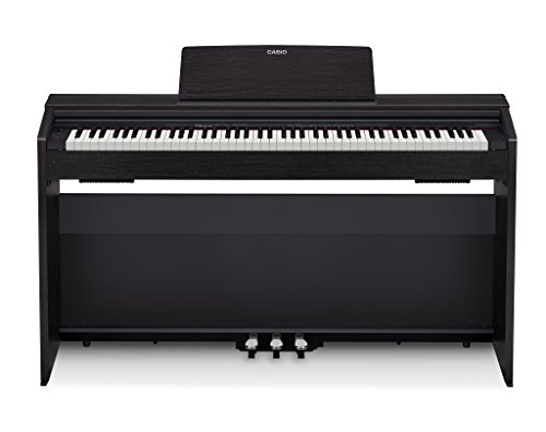 Casio PX-870 Black Privia Digital Home Piano, Black