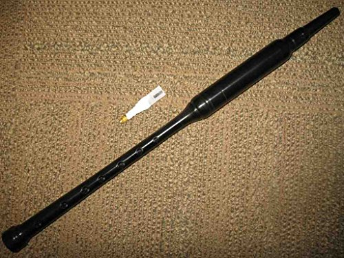 Bagpipe Practice Chanter Kit (Gibson Standard) with Book, Chanter Case, Spare Reed, Reed Case