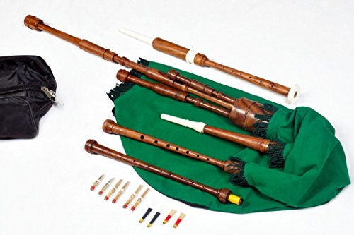 Border Pipes, Scottish Lowland pipes, Session pipes, Reel pipes, or Half Longs Bagpipes
