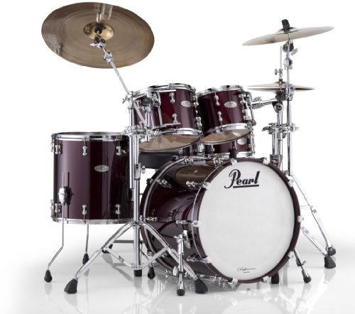 Pearl RFP Reference Pure Low-Mas EvenPly Maple, Birch, and African Mahogany New Fusion Shell Pack (22×18, 10×8, 12×9, 16×16)