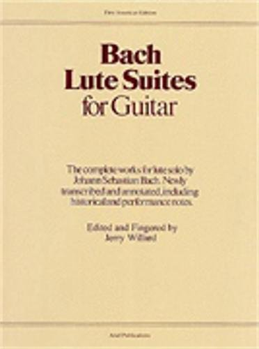 Bach Lute Suites for Guitar – Book