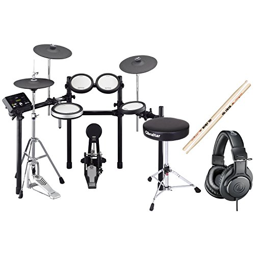 Yamaha DTX562K Electronic Drum Set w/Kick Pedal, Hi-Hat Stand, Headphones, Throne, and Sticks!