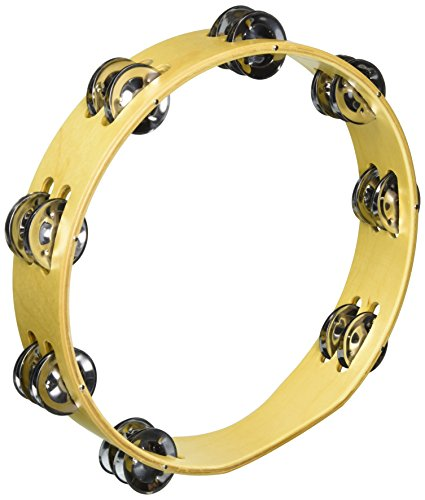 CODA DP-135-10 Wood Body Tambourine