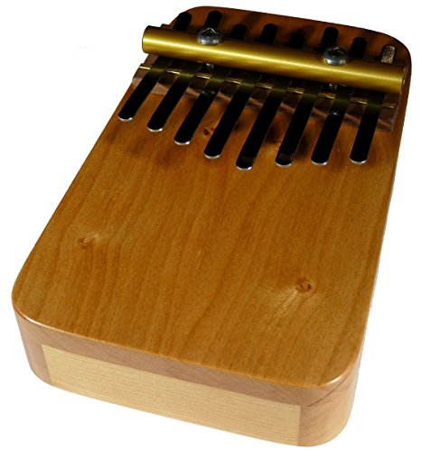 Zither Heaven Artisan Cherry 8 Note Thumb Piano with Cherry top