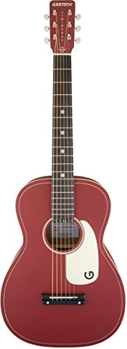 "Gretsch Limited Edition Jim Dandy 24"" Flat Top Guitar, Rosewood Fingerboard, Chieftain Red Finish"