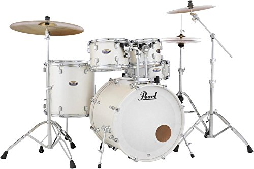 Pearl Decade DMP925SP/C229 5 Piece Drum Shell Pack, White Satin Pearl