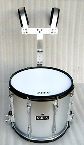NEW SILVER COLOR MARCHING SNARE DRUM 14″x 11″