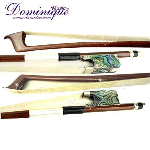 D Z Strad Cello Bow with Abalone Shell Frog Full Size 4/4