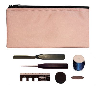 Reed Pros Oboe Reed Making Kit Standard – Pink Pouch