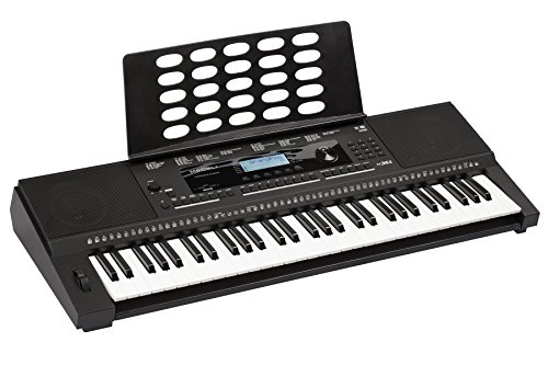 Medeli M361 61-Key Portable Electronic Keyboard with Interactive LCD Screen & Includes power supply