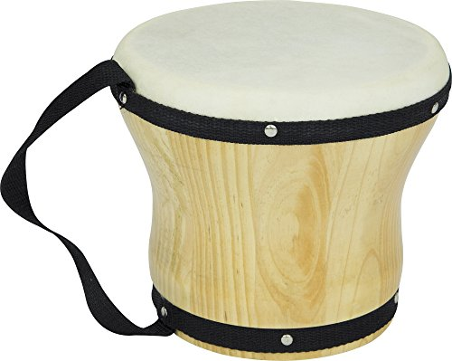 Rhythm Band Bongos Single Medium 6 in. H x 5-1/2 in. Dia.