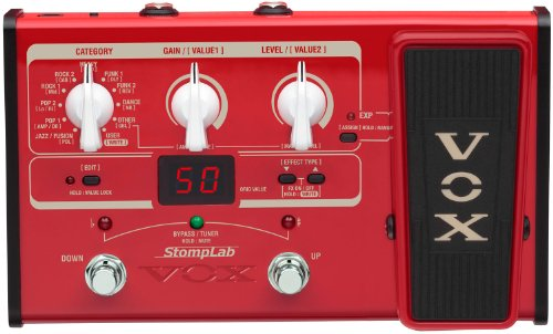 VOX STOMPLAB2B Multi-Effects Modeling Pedal for Bass Guitar